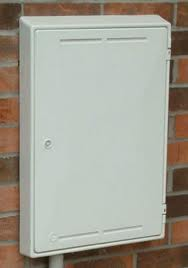Gas Meter Box Vented MB4 White