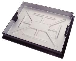 600 x 450 Galv Recessed Tray Sealed and Locking