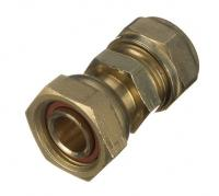 Compression Straight Tap Connector 22mm x 3/4""