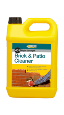 Everbuild 401 High Strength Brick & Patio Cleaner 5 litre