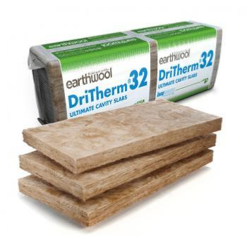 Knauf Earthwool DriTherm 32 Ultimate Cavity Insulation - 100mm
