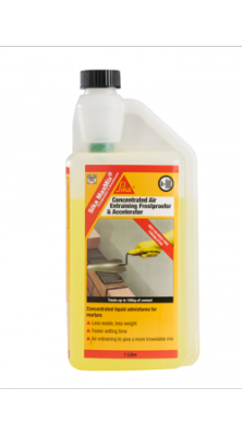 Sika MaxMix Frostproofer and Accelerator 1 Litre