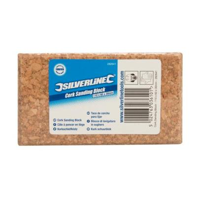 Silverline Cork Sanding Block