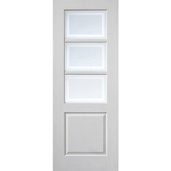 Andorra White Glazed Door