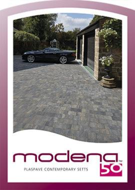 Plaspave Modena 50mm Block Paving - 8.96m2 Mixed Size Pack