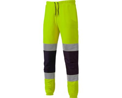 Dickies High Visibility Two Tone Joggers - Yellow/Navy (SA2008)