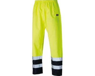 Dickies High Visibility Two Tone Trousers - Yellow/Navy