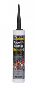 Everbuild Roof & Gutter Sealant - Black