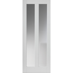 Dominica White Glazed Door