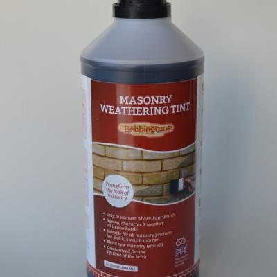Bebbingtons Weathering Tint for Brick, Masonry and Mortar