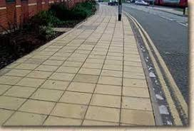 Heavy Duty Buff Paving Slabs 50mm