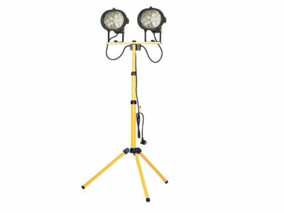 Faithfull 1000W Twin Floodlights on Adjustable Stand