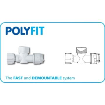 "Polyfit 15mm-1/2"" Service Valve FIT6515"
