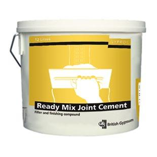 Gyproc Ready Mixed Joint Cement 12ltr