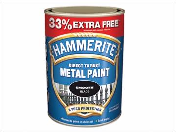 Hammerite Direct To Rust Metal Paint 750ml + 33.3% Extra Free