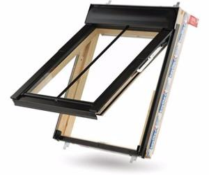 Keylite Conservation Top Hung/Fire Escape Roof Window with Thermal Glazing - White Finish