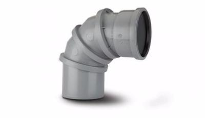 Polypipe 110mm Soil Pipe Adjustable Bend 0 deg - 90 deg SAB90
