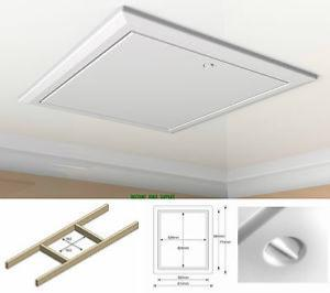 Timloc Plastic Insulated Hinged Loft Hatch Door with 0.35 UV Insulation 562x665mm (1169/35)
