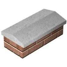 "Wall Coping Stone - Twice Weathered 24""x5.5""x2"""