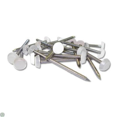 White Plastic Headed Pins (per box of 250)