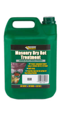 Everbuild Masonry Dry Rot Treatment 5 litre