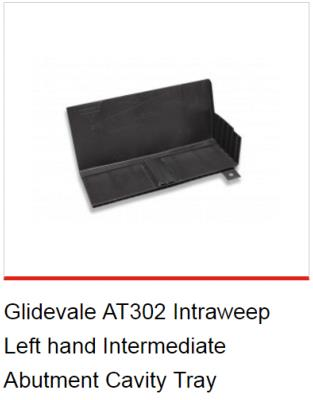 Glidevale Intraweep Intermediate Abutment Cavity Tray Handed