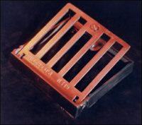 Square Alloy Hinged Gully Grating and Frame 150mm x 150mm