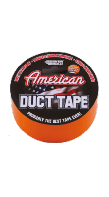 Everbuild American Duct Tape - Orange 50mm x 25mtr