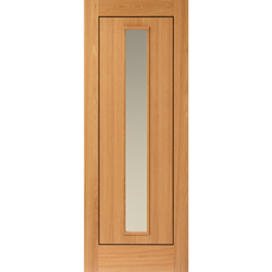 Spencer Oak Glazed Door