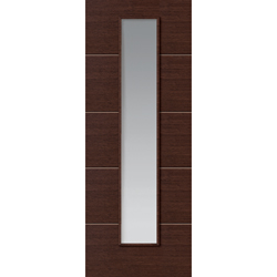 Wenge Painted Glazed Door