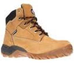Dickies graton safety boots - honey