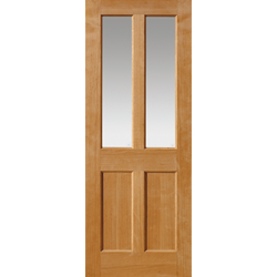 Severn Oak Glazed Panelled Door