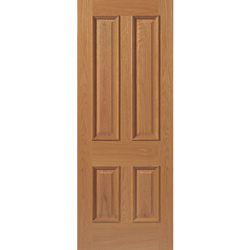 Royale E14M Oak Veneered Prefinished Door