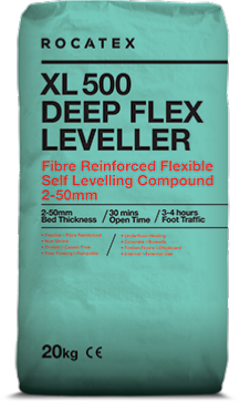 Rocatex XL500 Deep Flex Leveller 20kg bag