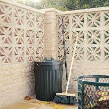 Bradstone Screenwall Walling (Leaf Block - Off-White)