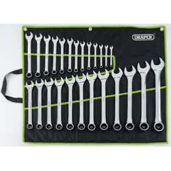 Draper 25 piece Combination Spanner Set