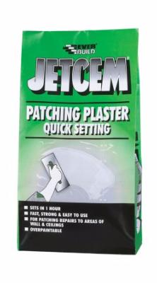 Everbuild Jetcem Quick Setting Patching Plaster 6kg