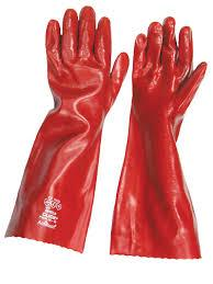 PVC Fully Coated Gauntlet Gloves