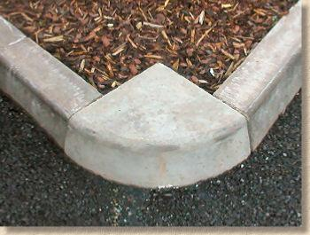 British Standard Kerbs Half Battered Quadrant Kerb 305mm