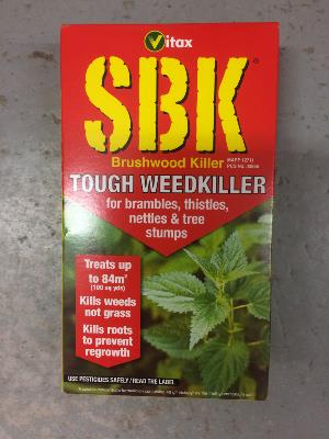 Vitax SBK Tough Weedkiller - Concentrated