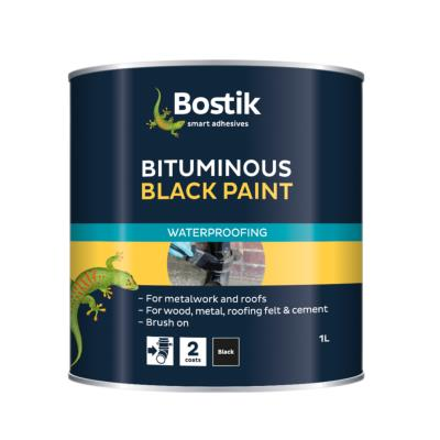 Bostik Black Bitumen Paint Emerys