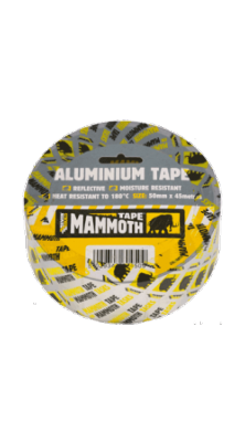 Everbuild Mammoth Aluminium Tape x 45mtr Roll