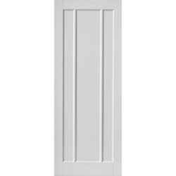 Jamaica White FD30 Fire Door