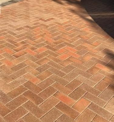 Blockleys Hadley Red Brindle OFFSHADE Chamfered Pavers 50mm