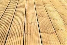 Treated decking boards emerys for Smooth hardwood decking boards