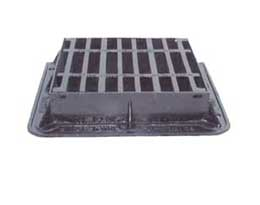 430 x 370 x 100 D400 Hinged Gully Grate and Frame