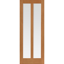 Matterhorn Oak Glazed Door
