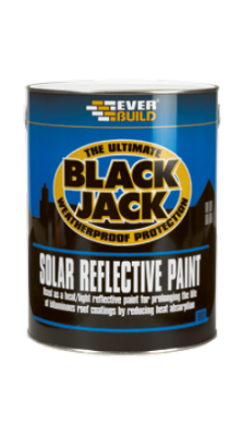Everbuild Black Jack 907 Solar Reflective Paint 5 Litre