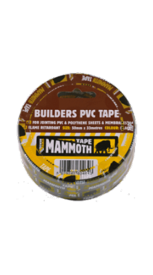 Everbuild Builders PVC Tape - Black
