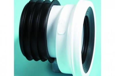 Polypipe 110mm Kwikfit Offset Pan Connector 40mm Offset Sk52